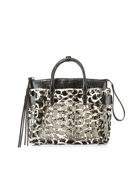 Nancy Gonzalez Limited-Edition Cristie Medium Camellia Tote Bag