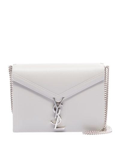 Cassandra Small Grain de Poudre Flap-Top Crossbody Bag