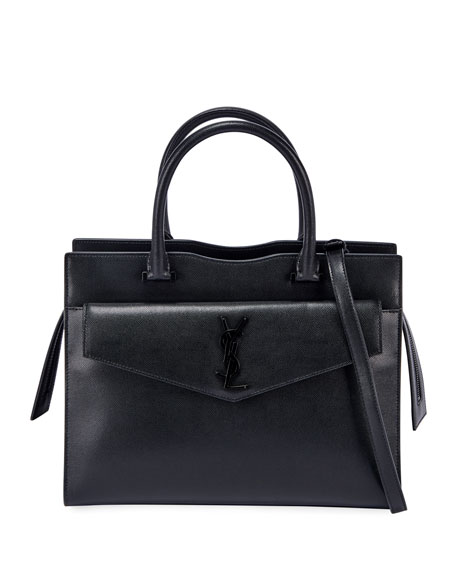 Saint Laurent Uptown Medium East-West Satchel Bag