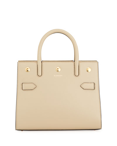 Title Baby Grainy Leather Tote Bag