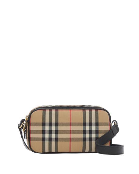 Burberry Vintage Check Camera Belt Bag
