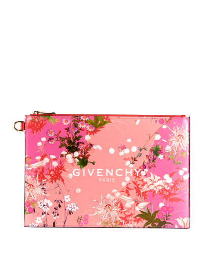 Iconic Prints Pouch Medium Clutch Bag