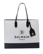 Balmain Two-Tone Shopping Tote Bag