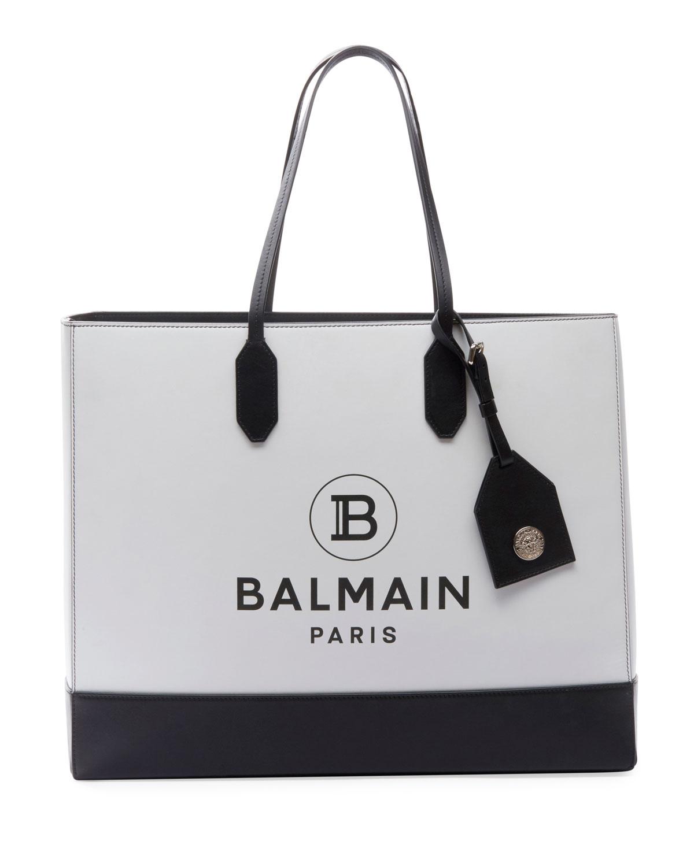 Balmain Totes TWO-TONE SHOPPING TOTE BAG