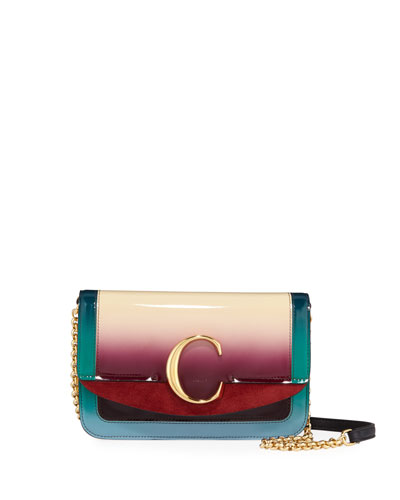 C Mini Shiny Crossbody Bag