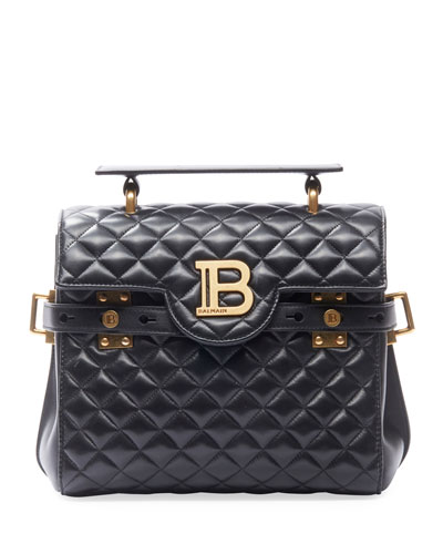 BBuzz 23 Quilted Lamb Leather Shoulder Bag