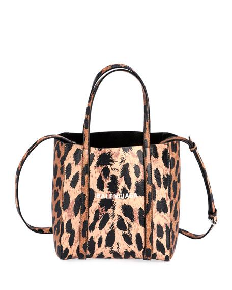 Balenciaga Everyday XXS AJ Leopard Tote Bag