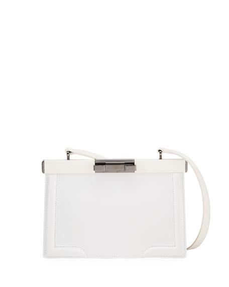 ALAIA Cecile Framed Shoulder Bag