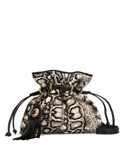Sacha Mini Calf Hair Crossbody Bag