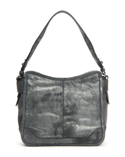 Mel Metallic Leather Hobo Bag