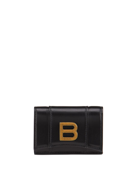 Balenciaga Hour Mini Medallion Wallet