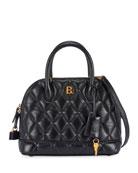 Balenciaga Ville AJ Small Quilted Top-Handle Bag