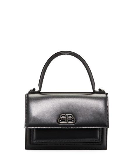 Balenciaga Sharp AJ XS Leather Top-Handle Bag