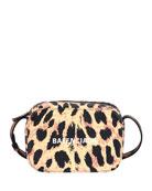 Balenciaga Everyday AJ XS Leopard Camera Bag