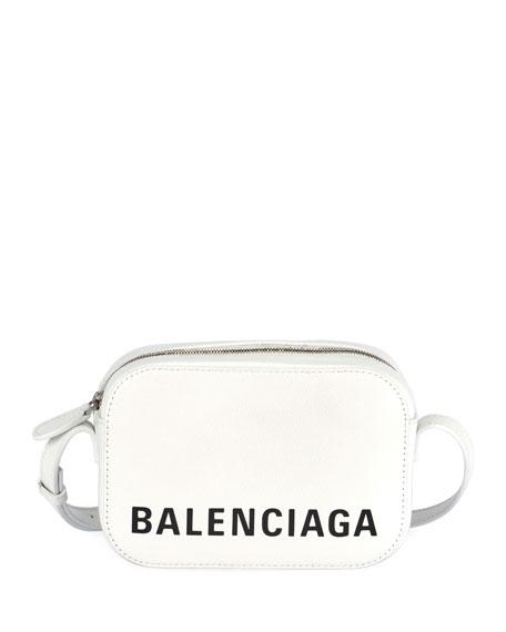 Balenciaga Everyday AJ XS Leather Logo Camera Bag