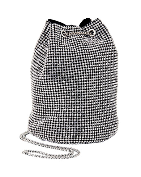 Whiting & Davis Crystal Bucket Bag
