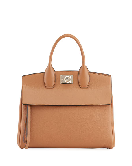Salvatore Ferragamo The Studio Top Handle Bag