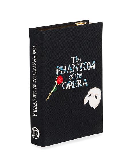 Olympia Le-Tan Phantom Of The Opera Book Clutch Bag