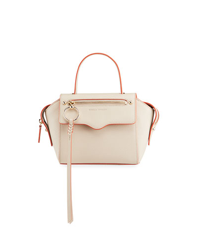 Gabby Small Leather Satchel Bag