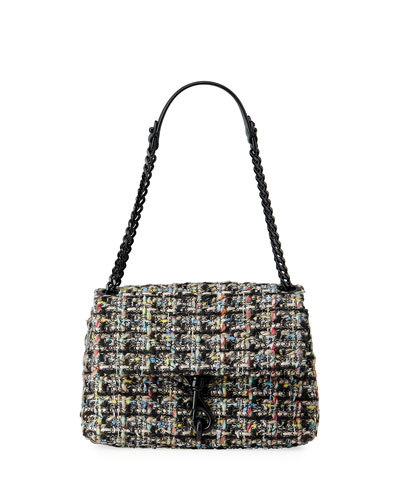Edie Tweed Crossbody Bag