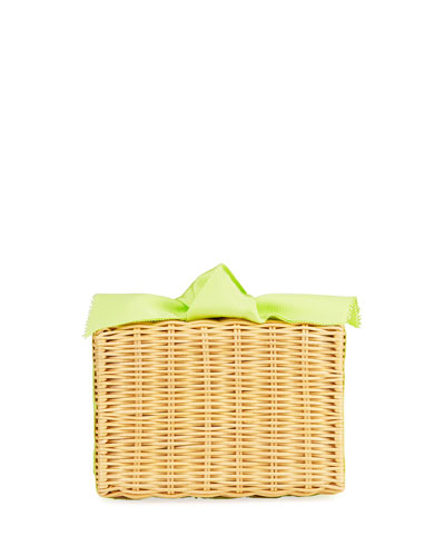 The Charlotte Woven Clutch Bag