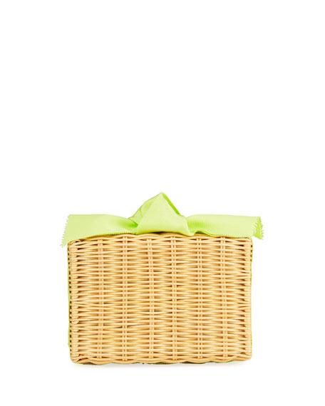 Pamela Munson The Charlotte Woven Clutch Bag