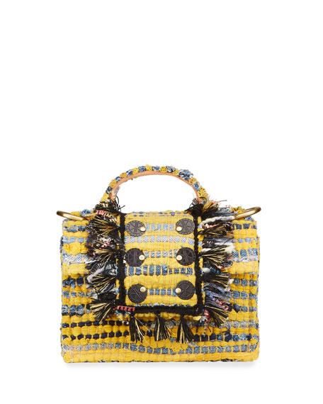 Kooreloo Juliet Petite Tweed Shoulder Bag