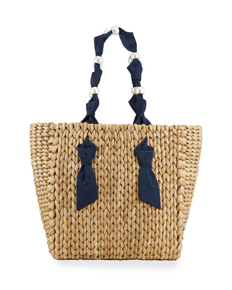 Pamela Munson Isla Bahia Petite Pearl Bag
