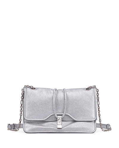 Candy Metallic Chain Shoulder Bag