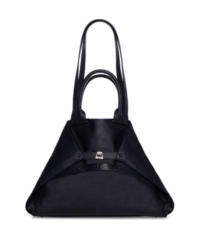 Aicon Medium Cervo Double-Handle Tote Bag