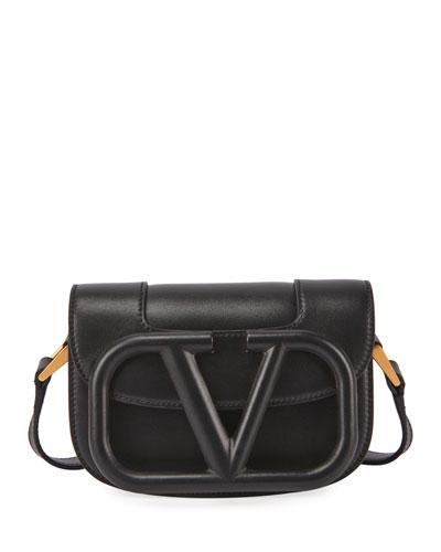 Supervee Small Leather Shoulder Bag