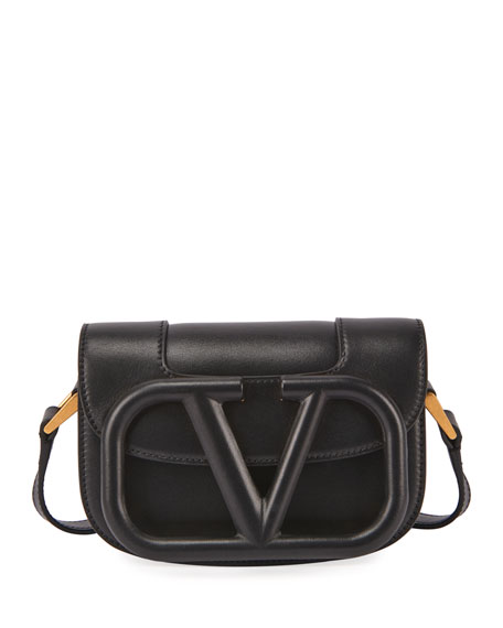 Valentino Garavani Supervee Small Leather Shoulder Bag