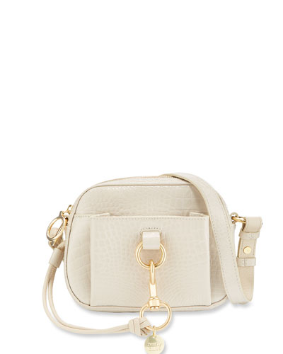 Tony Croco Leather Crossbody Bag
