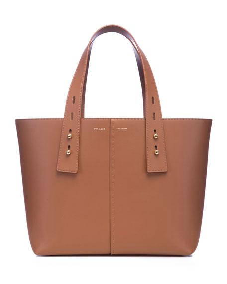 FRAME Medium Leather Top Handle Tote Bag
