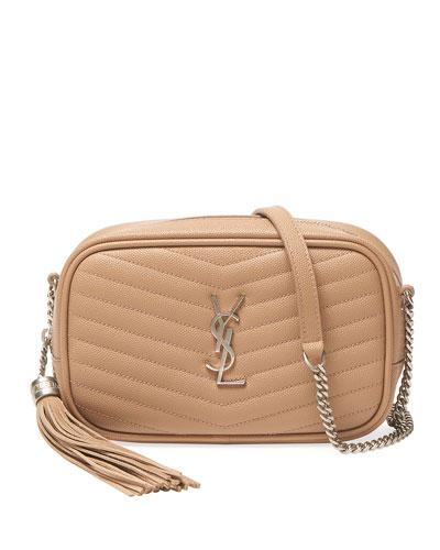 Lou Mini Monogram YSL Leather Camera Bag