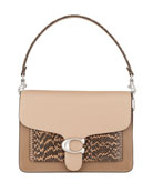 Coach 1941 Tabby Colorblock Mixed Leather Shoulder Bag