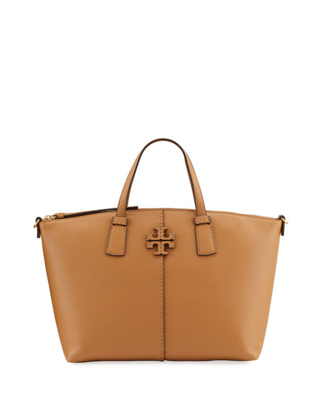 Tory Burch McGraw Zip Tote Bag