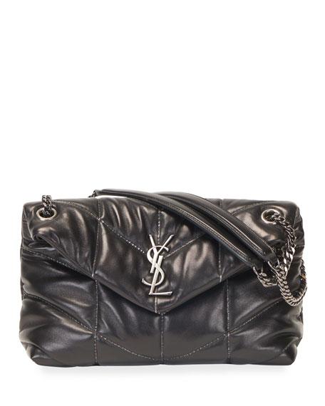 Saint Laurent LouLou YSL Small Puffer Shoulder Bag