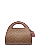 Coach 1941 Runway Coach Originals Coated Canvas Dome