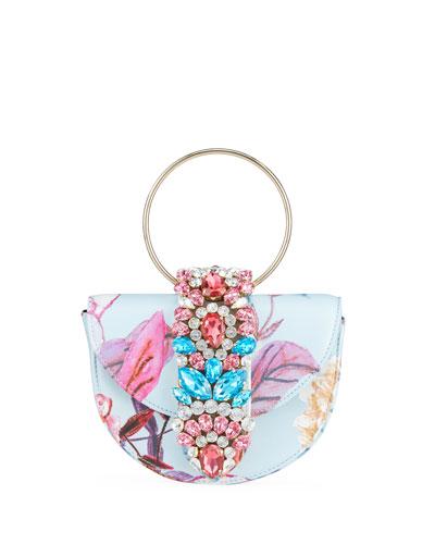 Brigitte Mini Sunrise Top-Handle Bag