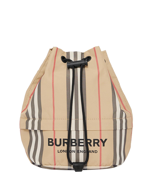 Phoebe Heritage Stripe Bucket Bag