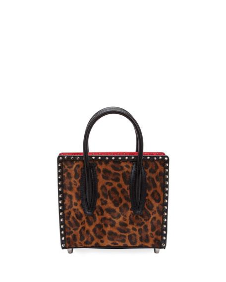 Christian Louboutin Paloma Small Kitty Calf E Spikes Top-Handle Bag