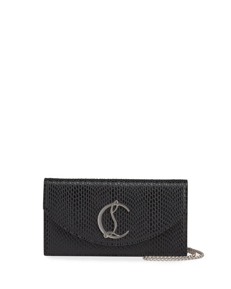 Christian Louboutin Loubi54 Calf Jurassic Clutch Bag