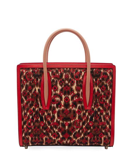 Christian Louboutin Paloma Small Leo 50s Loubinthesky Top-Handle Bag