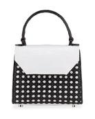 Nancy Gonzalez Lily Mini Cane Top-Handle Bag