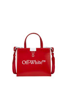 Off-White Mini Trademark Leather Box Bag
