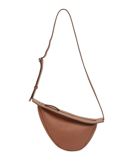 THE ROW Small Slouchy Banana Bag in Calf Leather