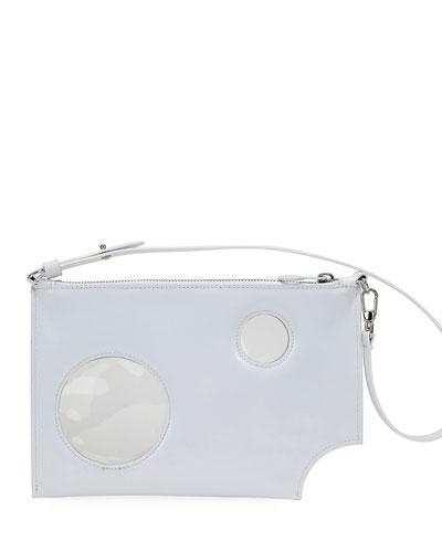 Hole Flat Pochette Bag