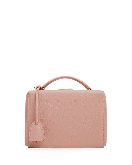 Mark Cross Grace Small Saffiano Box Bag