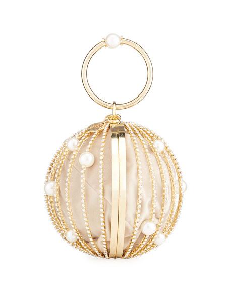 Rosantica Sasha Maxi Sphere Clutch Bag